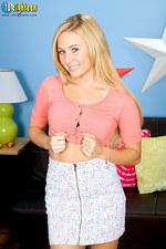 Mae Lynn Sexy Teen Strips 08