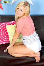 Mae Lynn Sexy Teen Strips 10