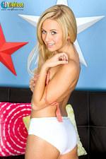 Mae Lynn Sexy Teen Strips 13