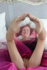 Skinny Girl In Bed 07