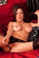 Rebekah Dee Busty MILF Masturbates 05
