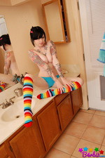 Rainbow Socks 01