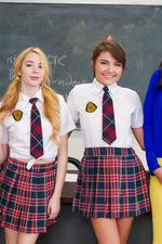Schoolgirls In Kinky Lesbian Love In The Classroom 00