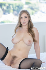Busty Porn Starlet Lena Paul Anal Fucked In Stockings 03
