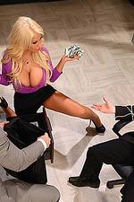 Busty Blonde Secretary Bridgette 11