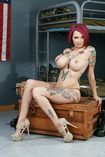 Anna Bell Hot Tattooed Bitch Gets Fucked 01