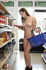 Ashley Adams Gets Public Naked 12