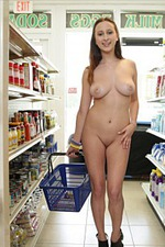 Ashley Adams Gets Public Naked 14