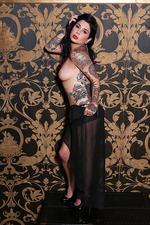 Joanna Angel Hot Tattooed Babe Strips 03