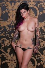 Joanna Angel Hot Tattooed Babe Strips 05
