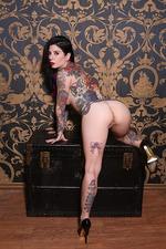Joanna Angel Hot Tattooed Babe Strips 20