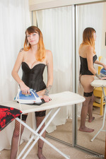 Mel's Doing Some Ironing 06