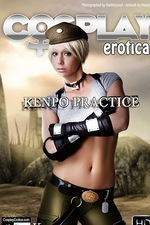 Kyra In Kenpo Practice 00