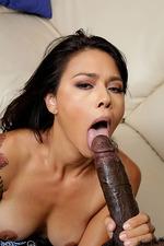 Dana Vespoli Rides A Huge Black Cock 04