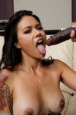 Dana Vespoli Rides A Huge Black Cock 06
