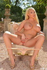 Summer Brielle Strips Outside 14