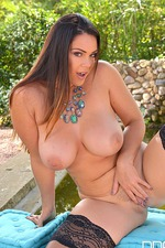 Alyson Tyler Shows Her Huge Tits 19