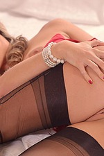 Eva Parcker Red Lingerie 16