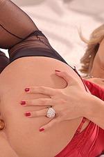 Eva Parcker Red Lingerie 19