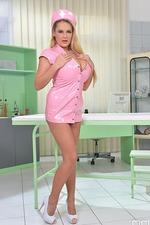 Busty Nurse Katie Thornton 01