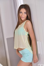 Alexis Brill Plays With Herself 19