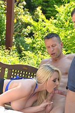 Victoria Summers In Threesome Outside 03