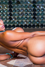 Alyssa Divine Sexy Round Tits 16