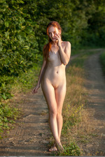 Redhead May In The Nature 03