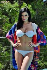Lilly Roma Strips Off Bikini 00