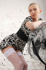 Marrina Black White Dress 00