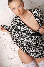 Marrina Black White Dress 01