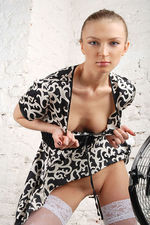 Marrina Black White Dress 03