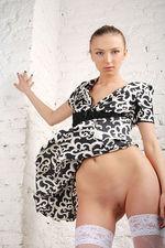 Marrina Black White Dress 14