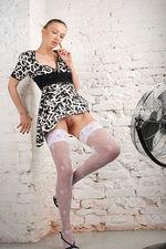 Marrina Black White Dress 15