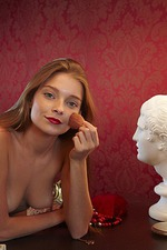 Belle Poses Nude At Home 02