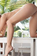 Nikky Nude On The Terrace 12