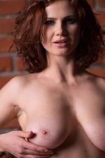 Busty Redhead Aphrodita 04
