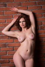Busty Redhead Aphrodita 09