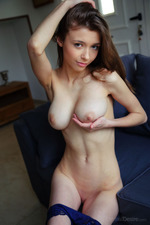 Cute Brunette Girl Mila 15