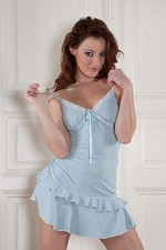 Judith In Blue Dress 03