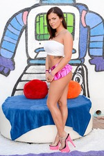 Keisha Grey Pink Skirt 02
