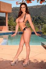 Busty MILF Kendra Lust Strips 06