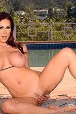 Busty MILF Kendra Lust Strips 13