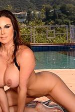 Busty MILF Kendra Lust Strips 14