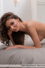 Sexy Hungarian Babe Fedra Poses Naked 10