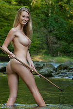 Carisha Gets Nude Outdoors 05
