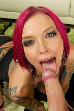 Anna Bell Peaks Deep Troat 04