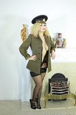 Aruba Jasmine In Sexy Black Stockings 00