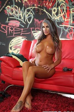 August Ames Strips And Spreads 14