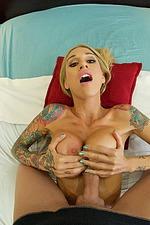 Sarah Jessie Gets A Massage 12